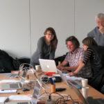 Kursdeltagare i WordPress grundkurs hos SFF