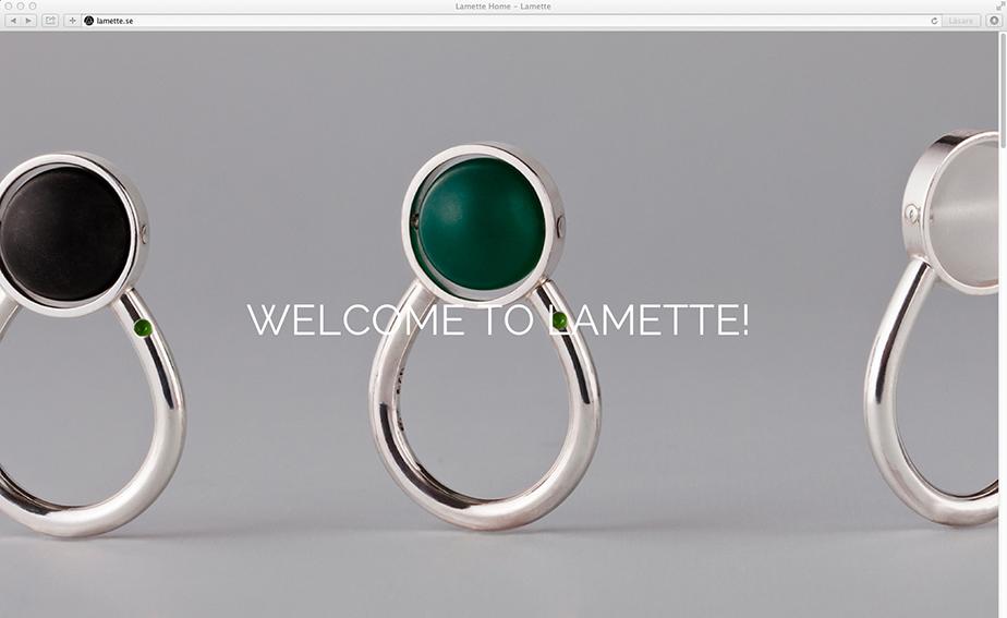 Ny hemsida lanserad – Lamette
