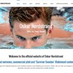 Oskar Nordstrand - första sidan
