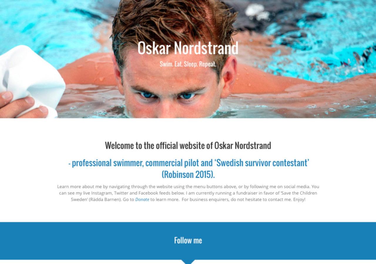 Oskar Nordstrand - Home