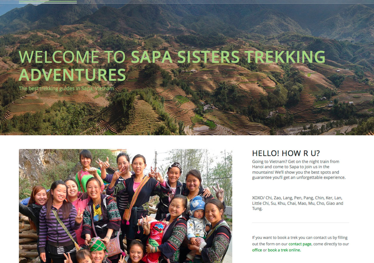 Sapa Sisters - Home