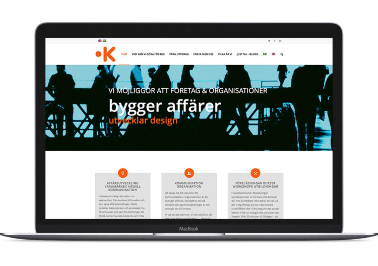 Keyfuture - första sidan