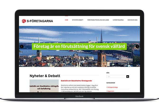 S-företagarnas nya hemsida