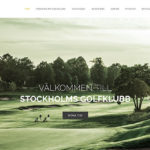 Stockholms Golfklubb - artig made it! webbyrå