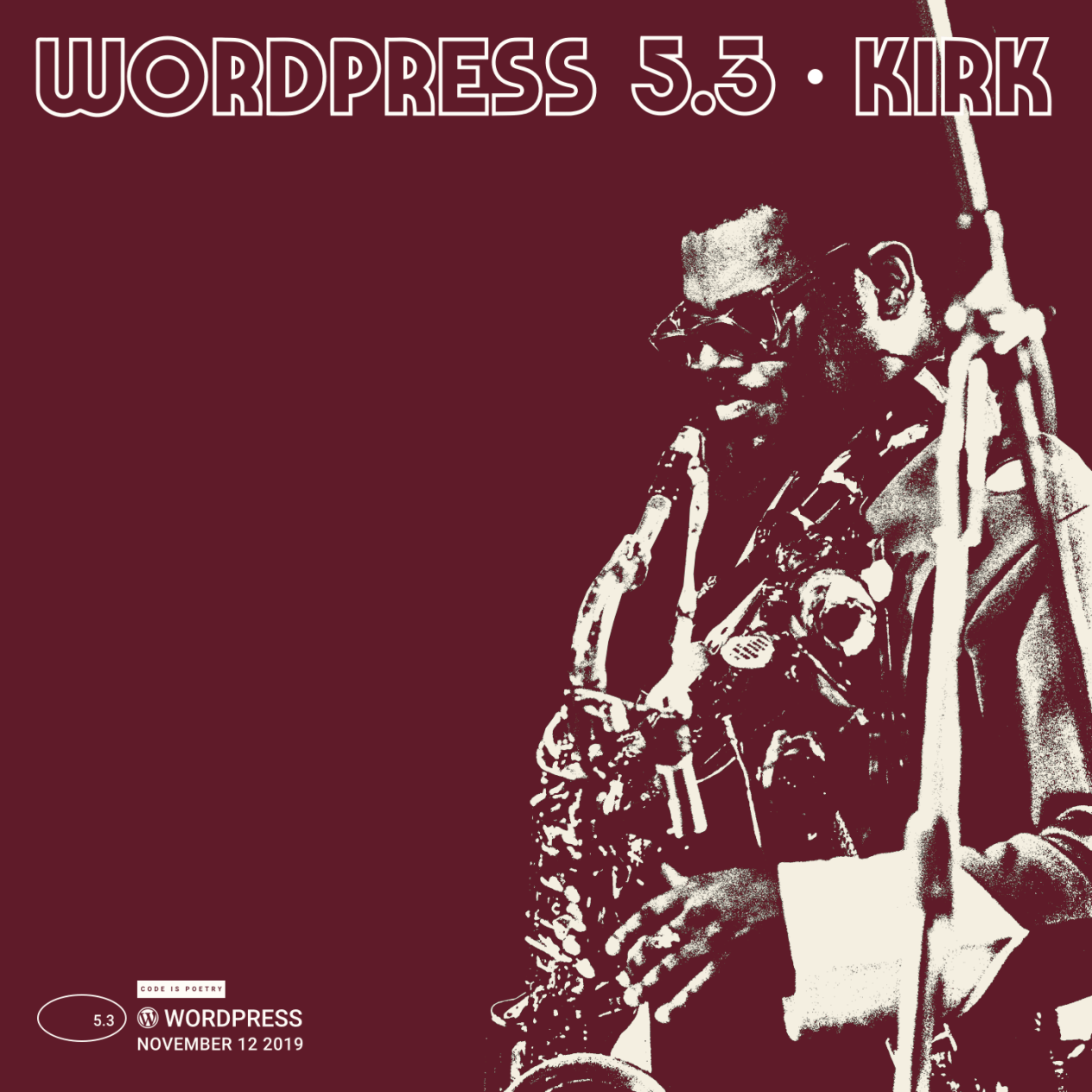 WordPress 5.3 cover